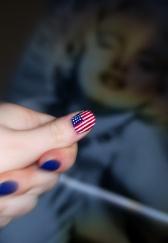 Firefoux-Nail-Art-drapeau-usa