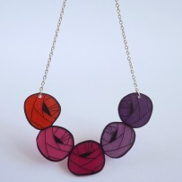 COLLIER Cocon violet